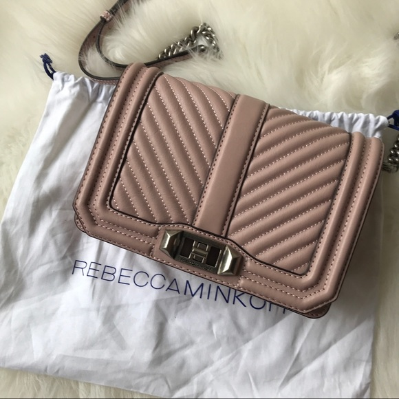 great prices new high quality delicate colors Rebecca Minkoff Bags | Chevron Quilted Small Love Bag | Poshmark